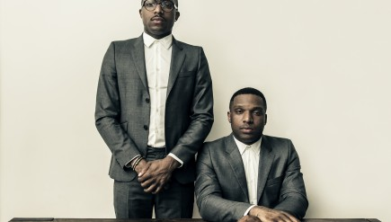 From left to right: Taiwo and Kehinde Hassan of Christian Rich.