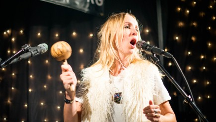 The Mynabirds perform live in the KEXP studio.
