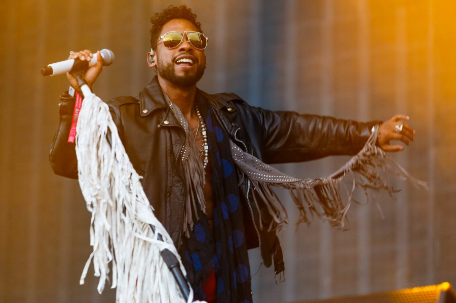 Miguel, a highlight at the Landmark Music Festival, which took over D.C.'s National Mall Sept. 26 to 27.