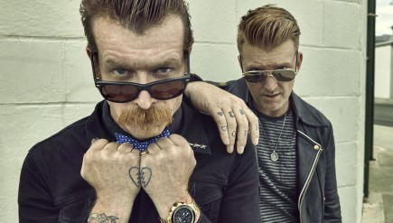 Eagles Of Death Metal's new album, Zipper Down, comes out Oct. 2.