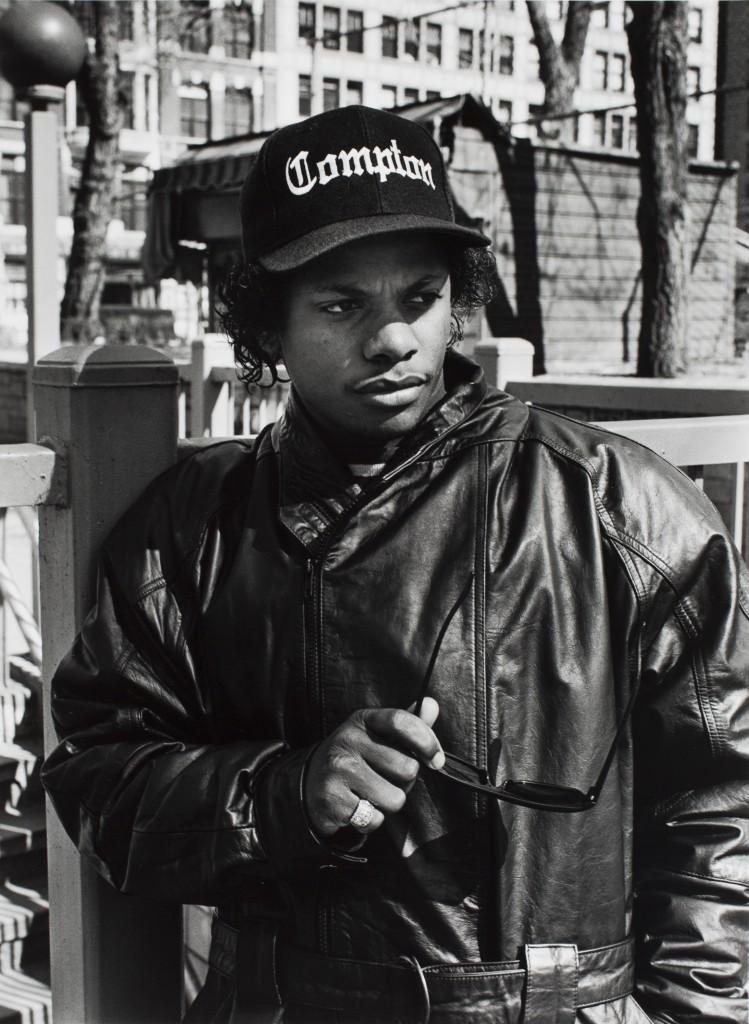 Eazy-E in New York's Union Square, 1996 (Al Pereira)