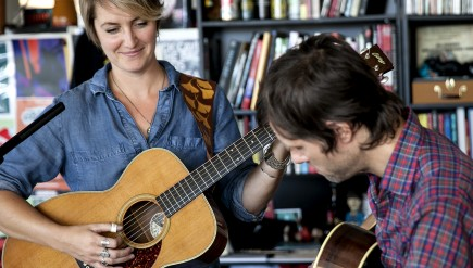 Tiny Desk Concert with Joan Shelley and Nathan Salsburg.
