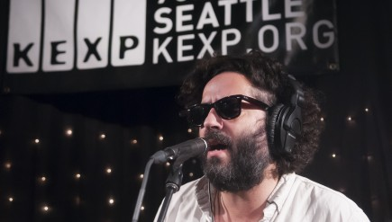 Destroyer performs live on KEXP.