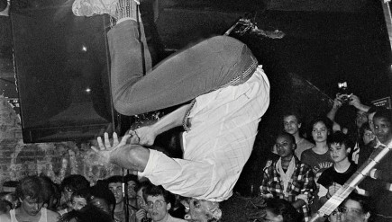 D.C. punk band Bad Brains is one of many punk groups photographed by Glen E. Friedman.
