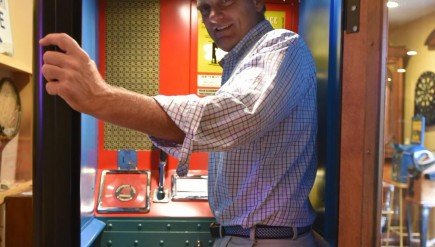 Meet Bill Bollman, the Maryland resident reviving an obsession with Voice-O-Graph recording booths.