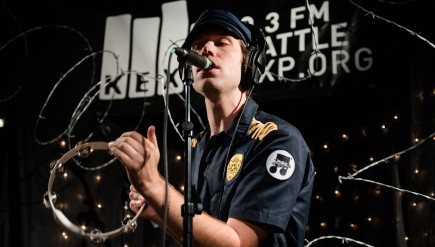 Mike Krol performs live in the KEXP studio.