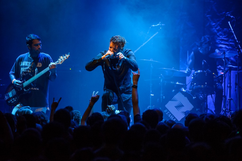 Deafheaven performs at the Howard Theatre in Washington, D.C.