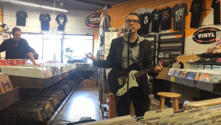 Actor Fred Armisen is scheduled to do something — maybe with a guitar — at D.C.'s Red Onion Records.