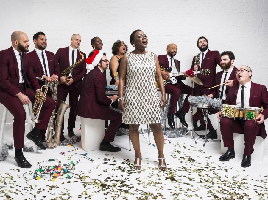 Sharon Jones and the Dap-Kings' new album, It's A Holiday Soul Party, is out now.