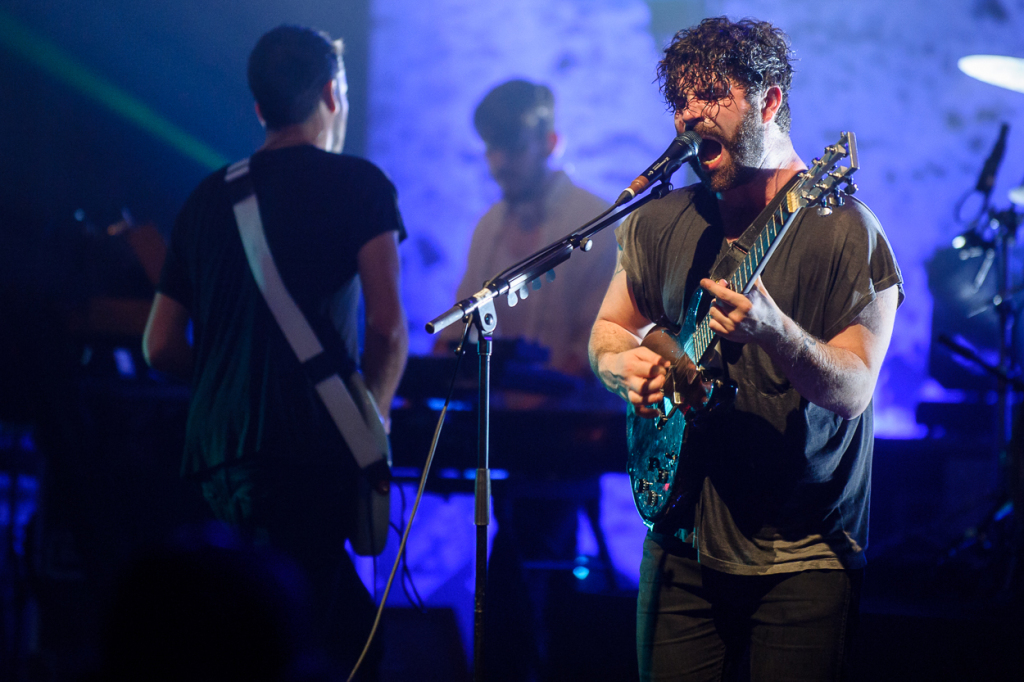 Foals perform at the Lincoln Theatre in Washington, D.C.