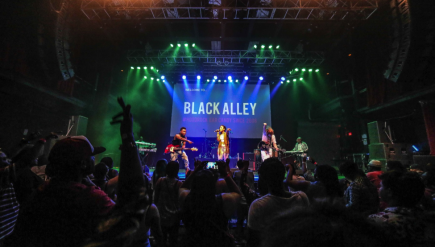 Hybrid rock/soul band Black Alley opens a big show in its hometown tonight: Holiday Jam at Verizon Center.