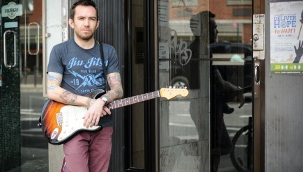 """I'm not really a man of metaphors,"" says political comic/musician Jamie Kilstein."