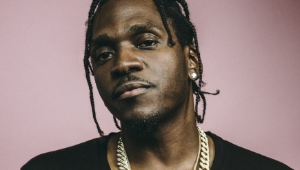 Pusha T in Los Angeles in December.