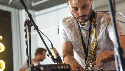 JR JR performs live at Sonos Studio for KCRW.