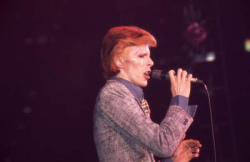David Bowie plays the Capital Centre, 1974 (Hunter Desportes)