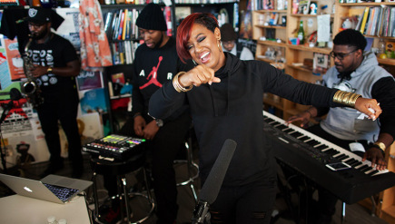 Tiny Desk Concert with Rapsody