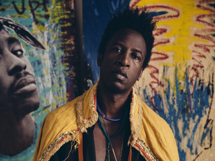 Saul Williams' new album, MartyrLoserKing, comes out Jan. 29.