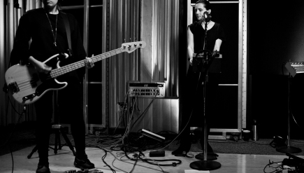 Savages performs live on KCRW.