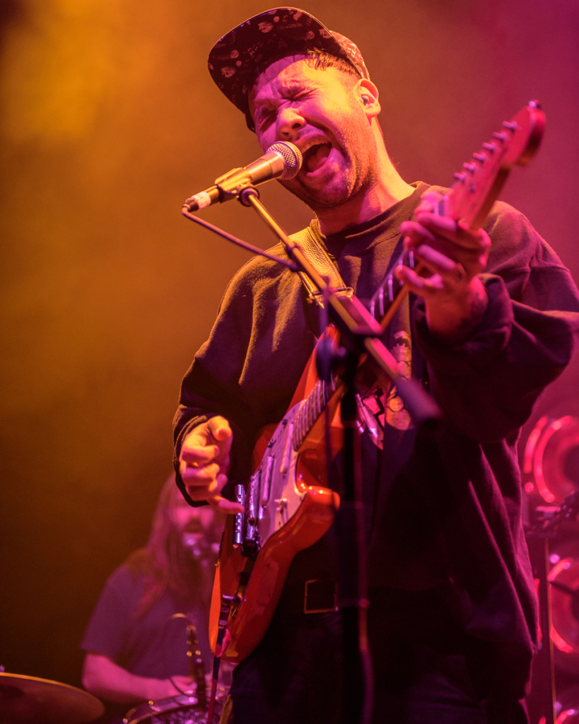 Unknown Mortal Orchestra perform at the 9:30 Club in Washington, D.C.