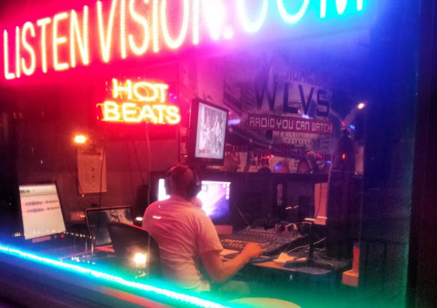 A full-service recording studio and Internet radio station, D.C.'s Listen Vision hosts 74 programs a week.