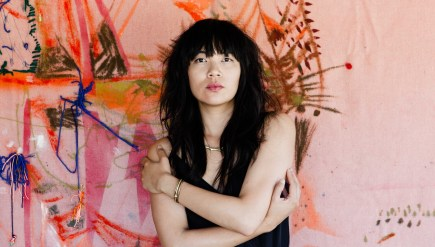 Thao Nguyen of Thao & The Get Down Stay Down. The group's new album, A Man Alive, comes out March 4.