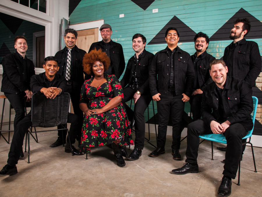 The Suffers' self-titled debut album comes out Feb. 12.