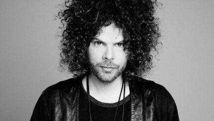 Andrew Stockdale of Wolfmother, whose new album, Victorious, comes out Feb. 19.
