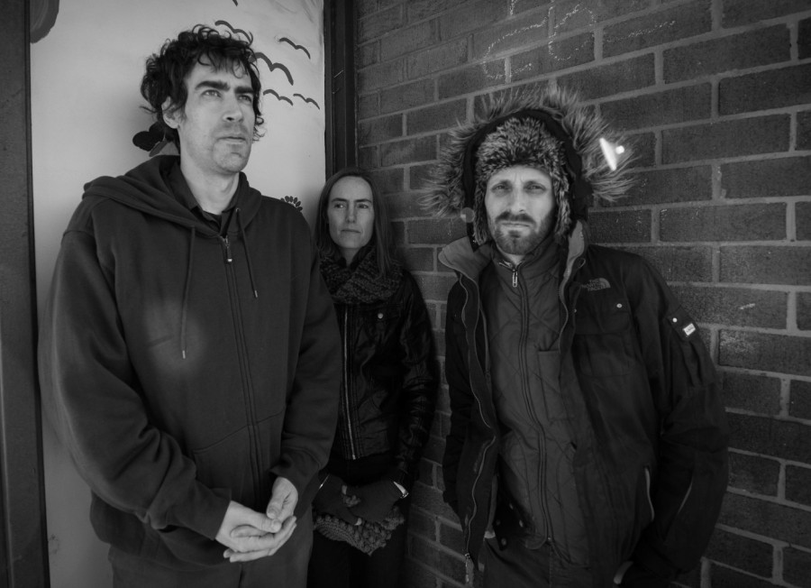 """On a new album, Puff Pieces deliver songs about """"existing in a consumerist capitalist world,"""" says frontman Mike Andre (left)."""
