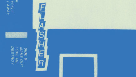 Flasher is a new post-punk trio from D.C., but it's got a Factory Records thing going on.