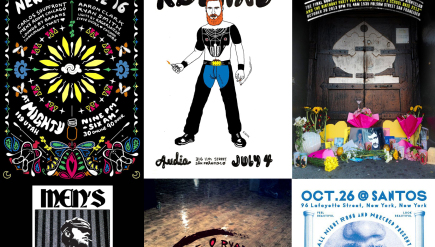 Flyers for Honey Soundsystem, Wrecked and Men's Room.