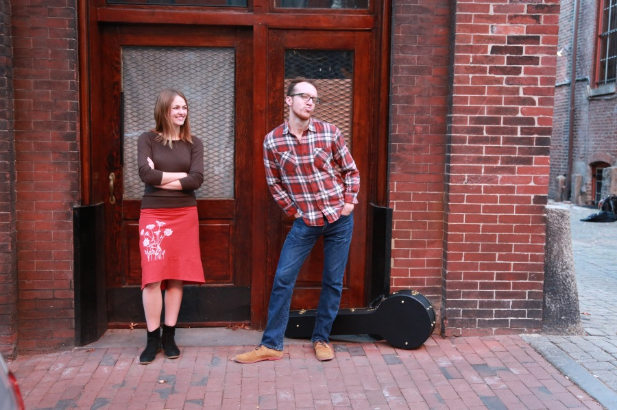 """""""Music has become more and more a big part of our lives and our relationship,"""" says Claire Daviss of D.C. duo Handsome Hound."""