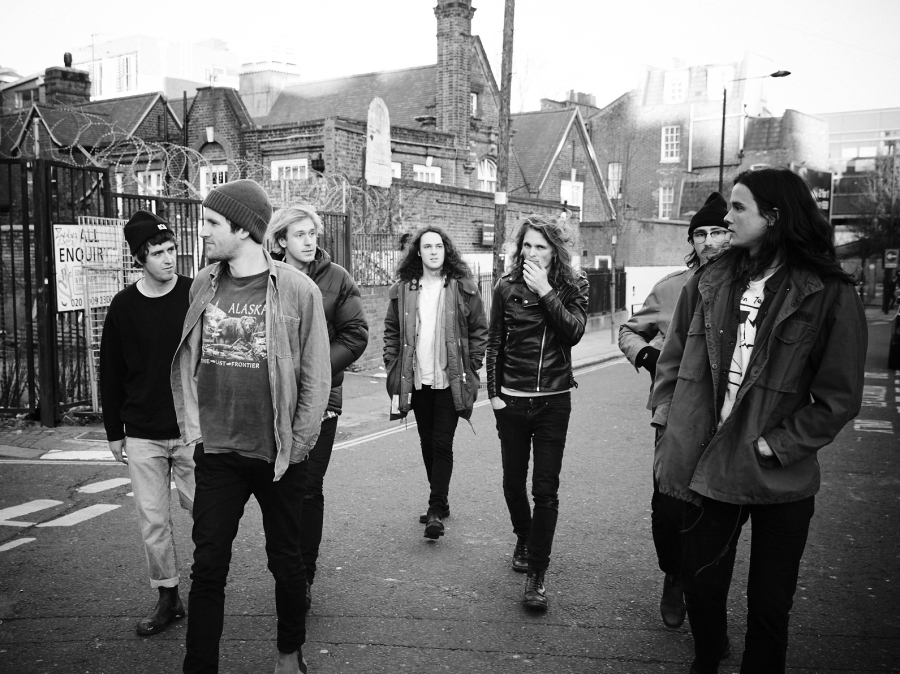King Gizzard & The Lizard Wizard's new album, Nonagon Infinity, comes out April 29.