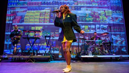 Santigold Performs in Silver Spring, MD