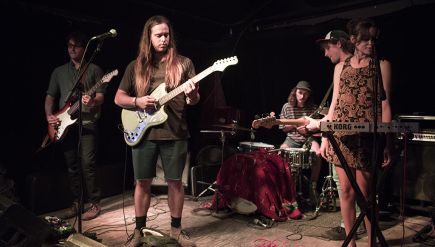 After finally solidifying as a band, D.C. quintet Go Cozy (shown at SXSW 2016) got robbed on tour.