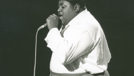 "An event this weekend remembers Billy Stewart (shown), a hit-making vocalist out of D.C. who died in a car crash, as well as Van McCoy, famous for ""The Hustle."""