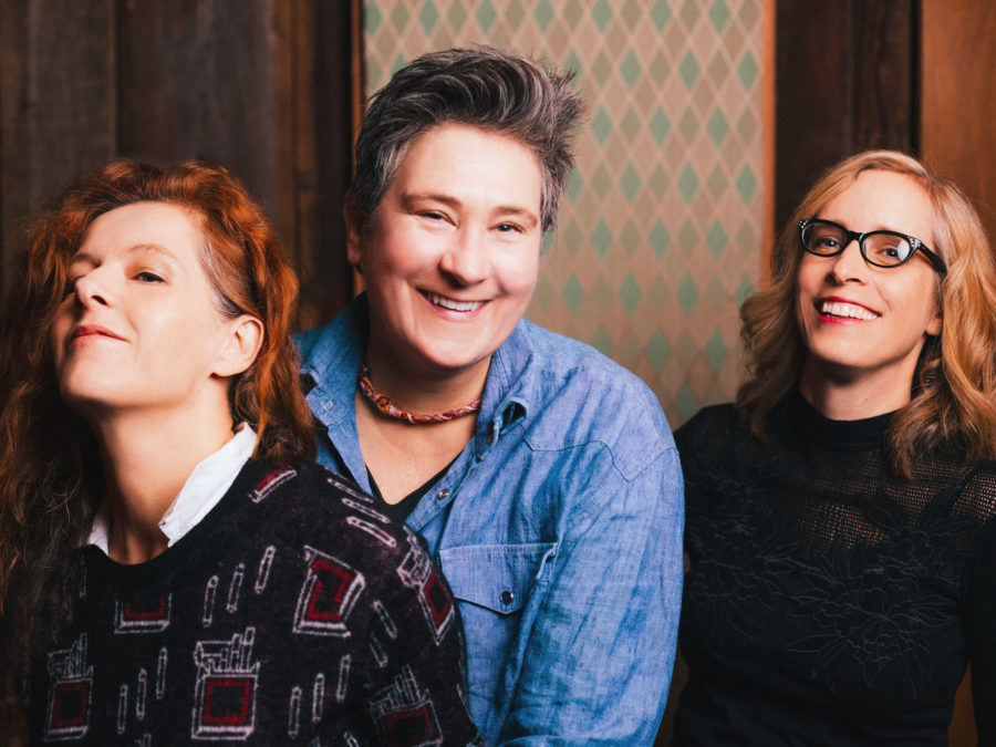 The self-titled debut album by case/lang/veirs comes out June 17.