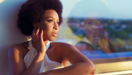 """""""I'm more organic than I used to be,"""" says soul vocalist Carolyn Malachi."""