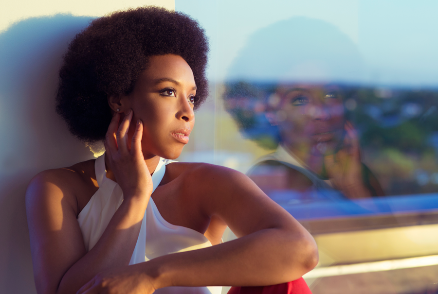 """I'm more organic than I used to be,"" says soul vocalist Carolyn Malachi."