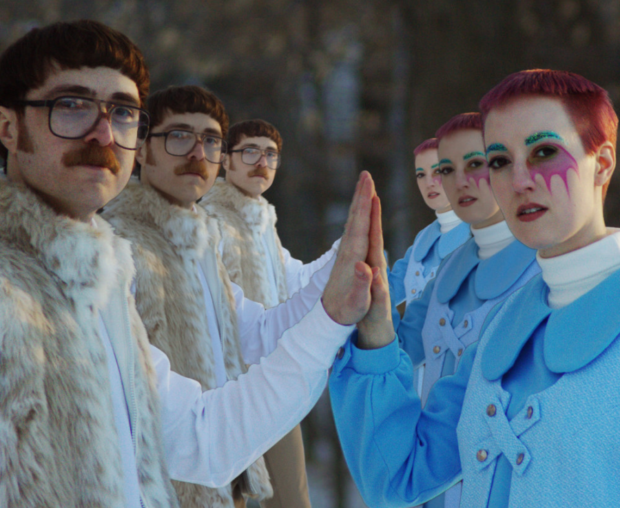"""On their debut LP, D.C. electronic-pop duo The Galaxy Electric creates a """"Jetsons""""-like world."""