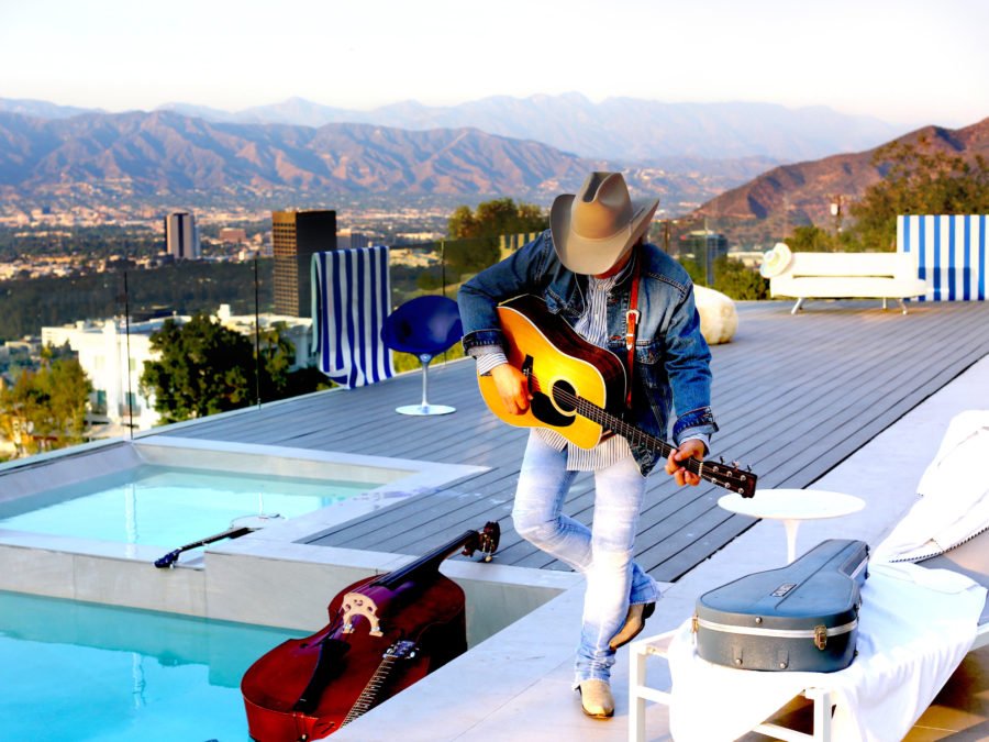 Dwight Yoakam's new album, Swimmin' Pools, Movie Stars..., comes out Sept. 23.