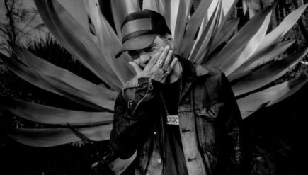 Daniel Lanois' new album, Goodbye To Language, comes out Sept. 9.