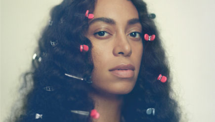 Solange on the cover of her new album, A Seat At The Table.