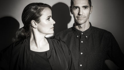 Virginia-based Martyn Deykers, right, has a new album out with Berlin-based Steffi Doms.
