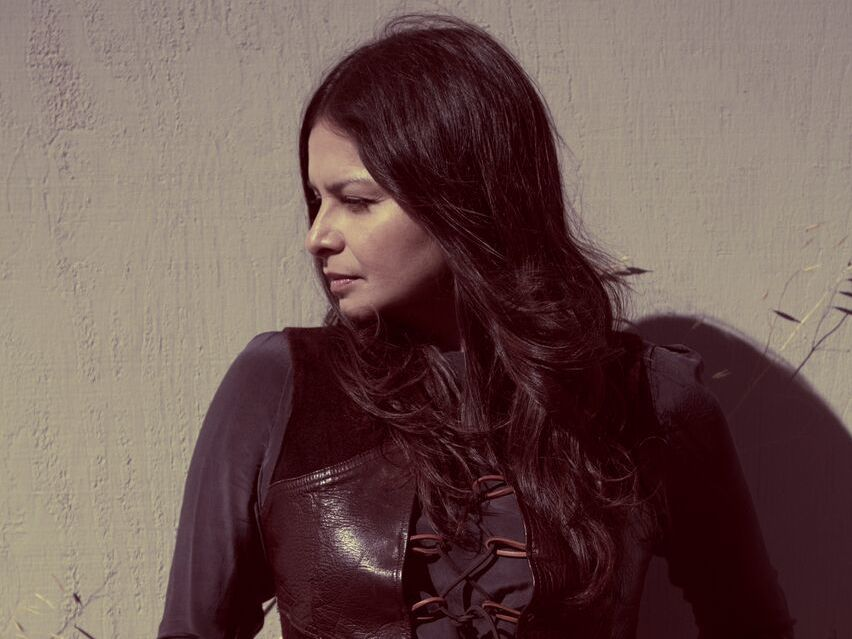 Hope Sandoval & The Warm Inventions' new album, Until The Hunter, comes out Nov. 4.