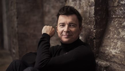 """If you look back at photographs of yourself from many years back, you probably look at them and cringe a little bit. I'm in that same boat,"" Rick Astley says of his '80s music videos."