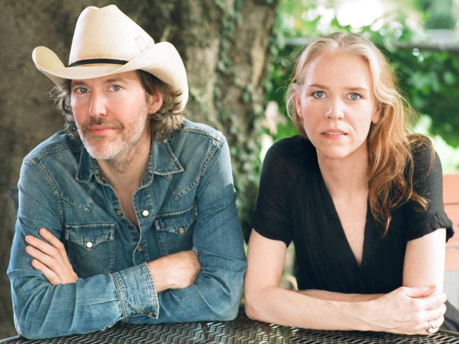 Gillian Welch, pictured here with partner Dave Rawlings, will release a new album, Boots No. 1 The Official Revival Bootleg, on Nov. 25.