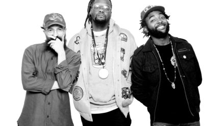 Maryland hip-hop artists Brain Rapp, Nature Boi and Ezko make up the collective Dope Music Village.